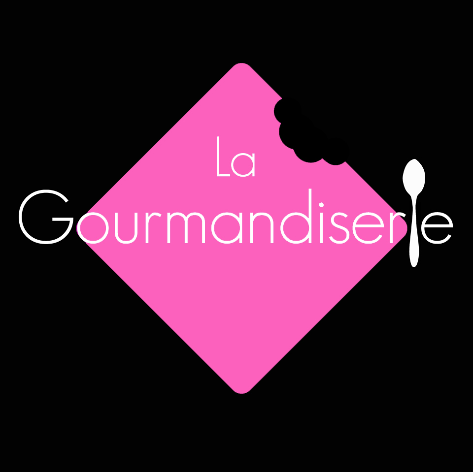 Logo La Gourmandiserie rose R252 V97 B189